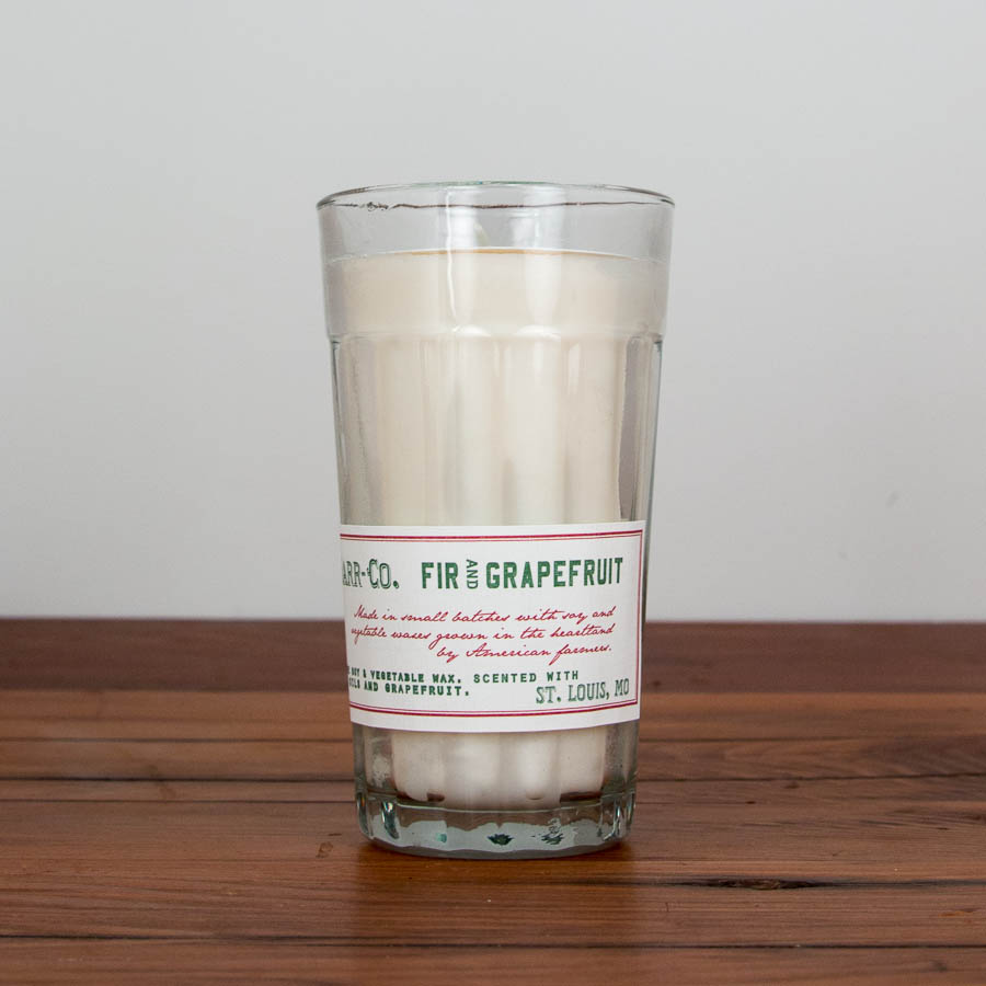 fir & grapefruit candle  $26