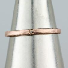 14kt rose gold chocolate diamond ring  $213.50  sale