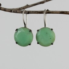 chrysoprase earrings  $64