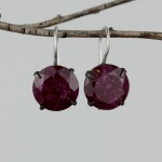 ruby jade earrings  $64