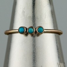 10kt turquoise ring  $144