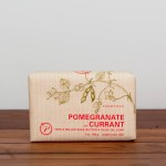 pomegranate currant soap $9