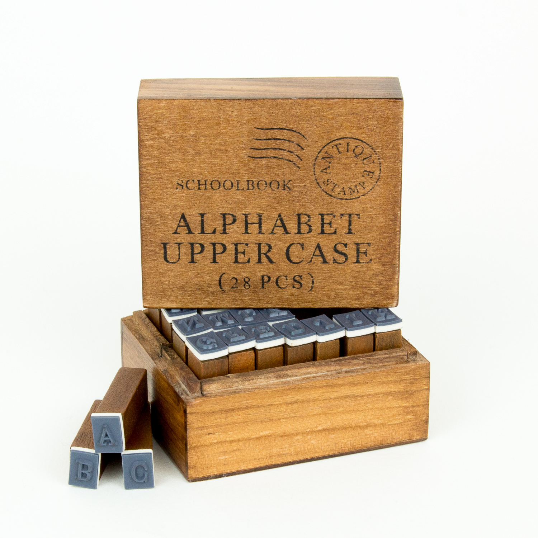 Upper Case Alphabet Stamp Set