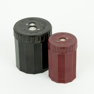 Classic pencil sharpener in small and large sizes
