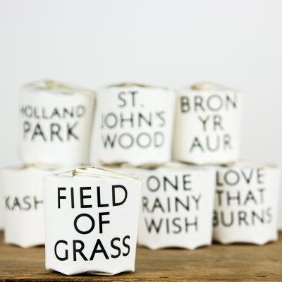 Tisane FIELD OF GRASS candle notes; freshly cut grass in the heart of the country. swaying daises sing a lazy song beneath the sun.