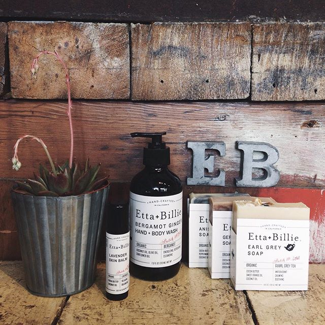 New @ettaandbillie apothecary goodies in the shop! We are obsessed with these delicious scents!!