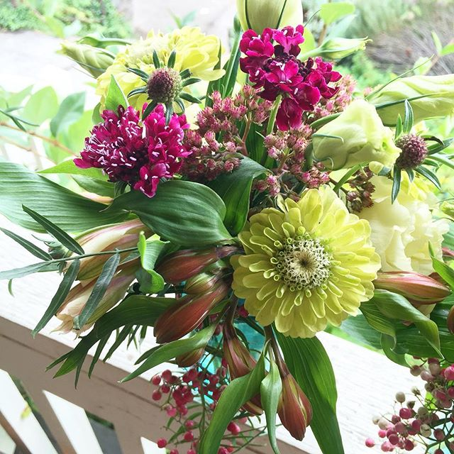 We'll have beautiful spring bouquets at the shop all weekend and through Tuesday.  Stop by and pick one up or send us a message to preorder.