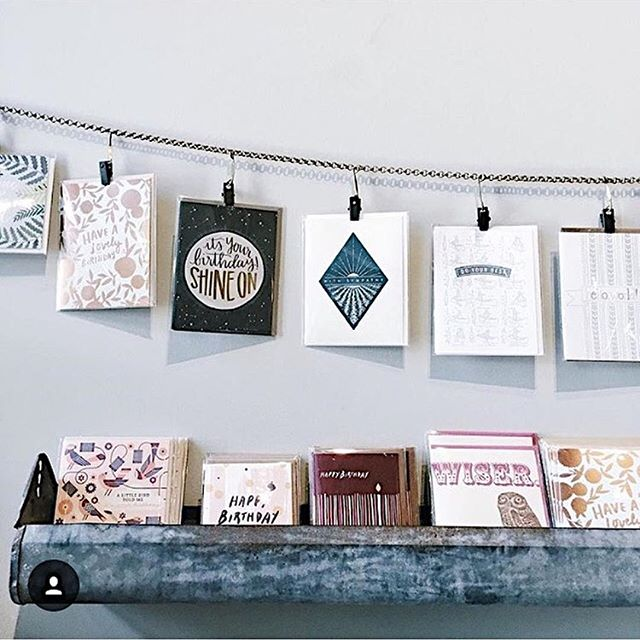 Birthdays, engagements, graduations, or just because- we've got the perfect cards for any occasion! ⠀ : @justgowithit