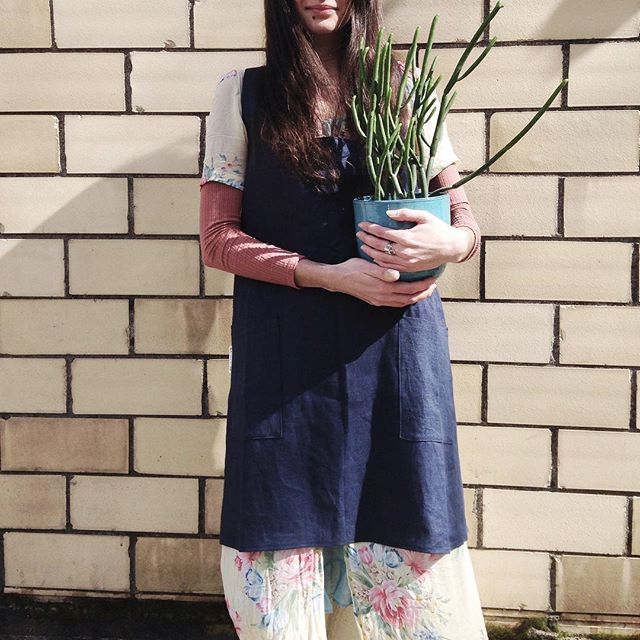 Bright and breezy. We've got gorgeous linen aprons from @portlandaproncompany for all your making, cooking and gardening projects!