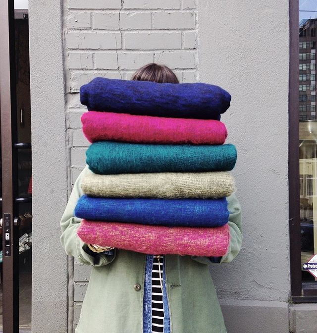 Chilly Spring nights call for snuggling up and staying cozy!