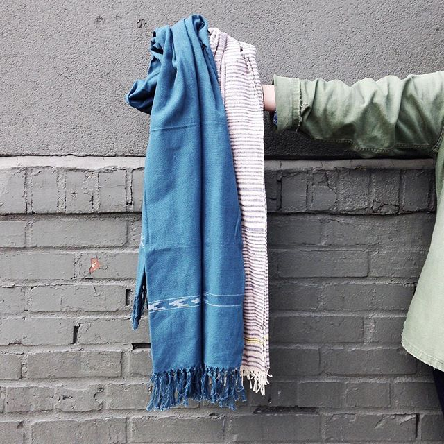 It may finally be time to swap out your heavy winter scarf for a lovely new lightweight spring scarf.  We've got you covered!