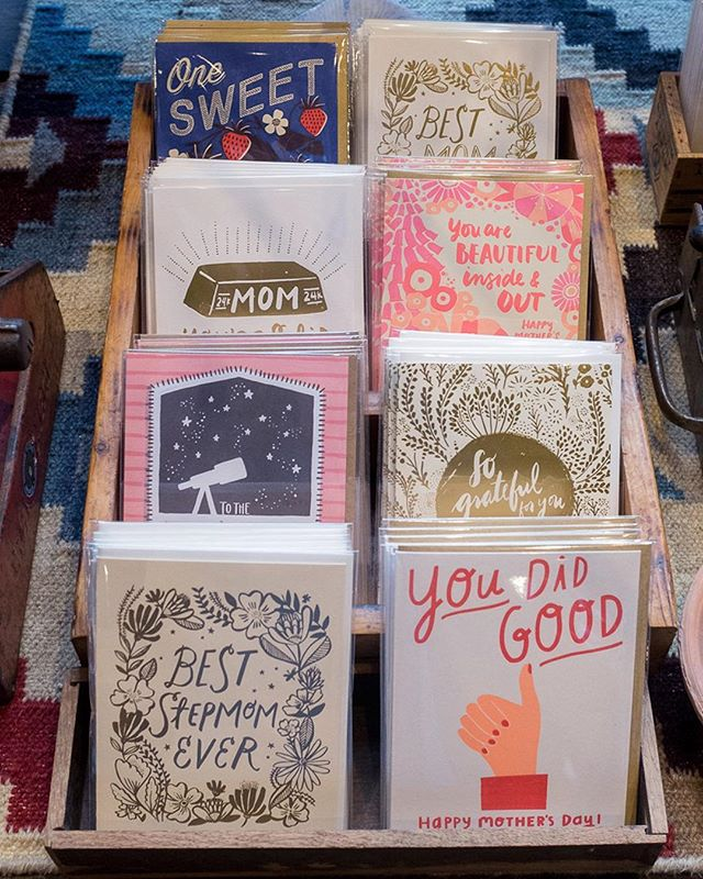 We've got all your Mother's Day card needs sorted! We're open 11-6 all week until the big day!