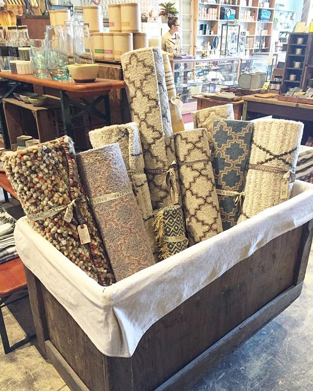 Who needs a new rug?? This whole bin of 3x5 and 4x6 rugs is on sale 30% off.  Come grab one while they last.
