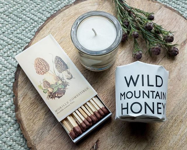 wild mountain honey candle