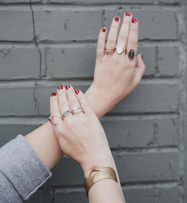 We have so many beautiful new jewels coming in lately that you're gonna need more fingers!