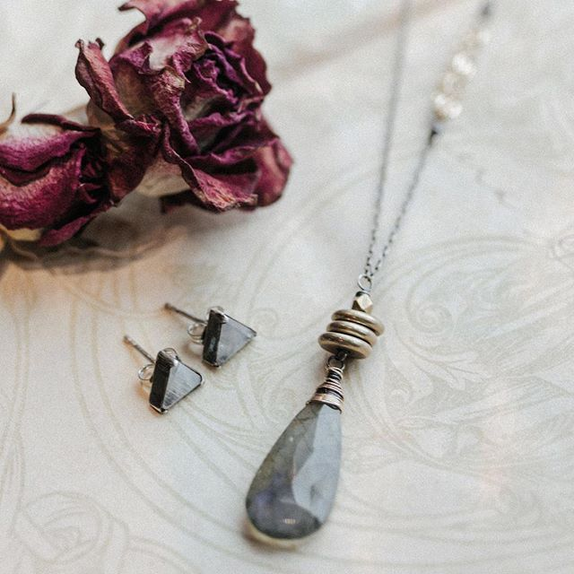 Stop by this weekend to see some of the special pieces that @amyolsonjewelry brought in for our Valentine's display.