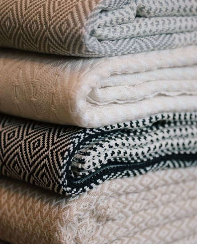 The rain is back and so are our favorite turkish towels/scarfs.