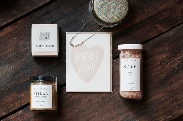 These spring inspired products from our favorite apothecary lines can be an amazing gift for your mom because who doesn't deserve that extra special self-care day.