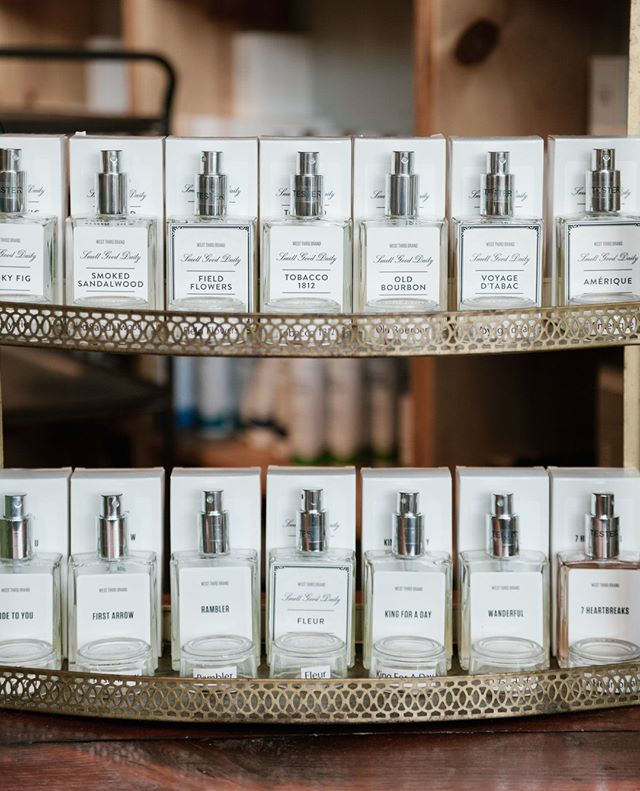 We're all stocked up on your favorite fragrances from @westthirdbrand  Tobacco 1812- tobacco leaf, aromatic spices, honey, cocoa, tonka bean, tobacco flower, dried fruit and exotic wood.  Our most popular fragrance!  Lone Wolf- bergamot, grapefruit, lime, jasmine, parsley, mandarin leaf, nutmeg and cardamom, amber, sandalwood & vetiver.