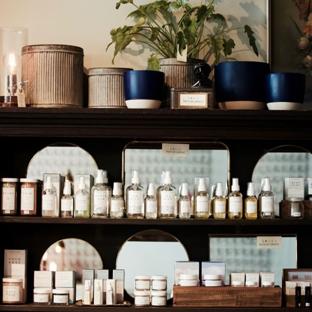 A little peek at our @herbivorebotanicals selection.
