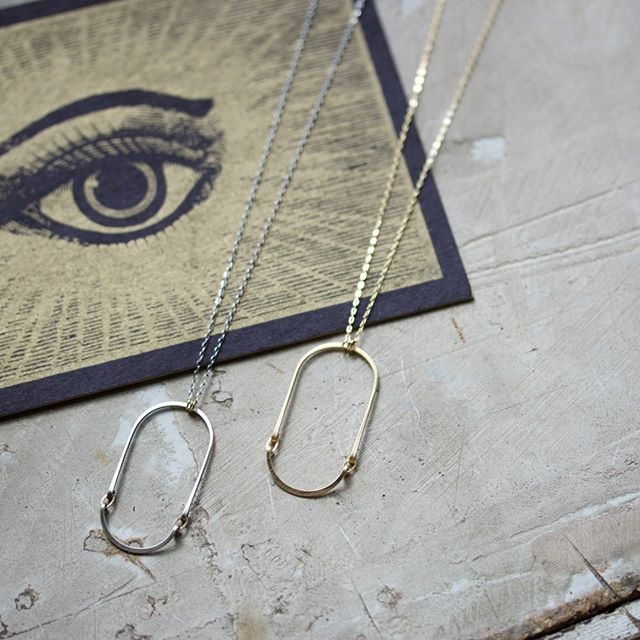 These new necklaces from @amyolsonjewelry are perfect for everyday.