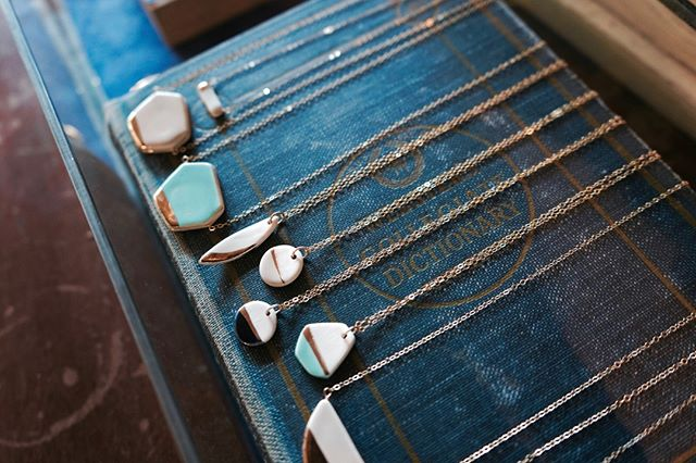 We have so many Zoe Comings necklaces in the shop right now! Stop by this weekend to pick up your favorite!