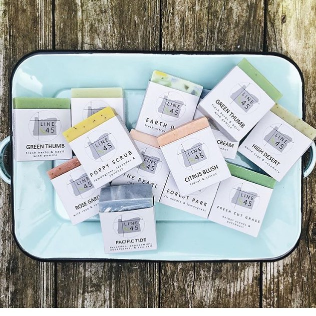 Have you tried @line_45_soap soap yet?  Inspired by all the best Oregon places, it's our new favorite!  @line_45_soap
