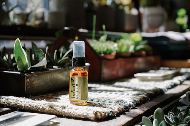 New in the shop- Sun Worshiper Serum from @urbapothecary .  Best thing you can do for your skin after a day in the ️.
