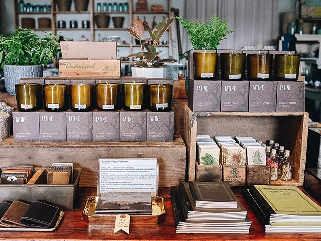 Were all stocked up on our @tatineofficial candles and Garden Mint is still holding strong as our favorite!!