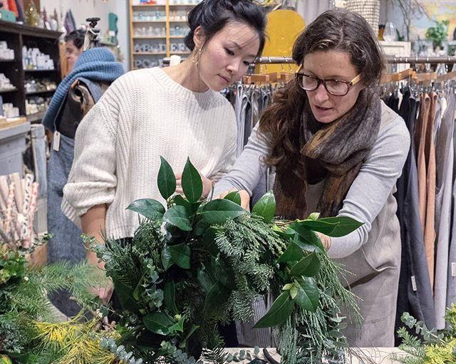 We've added two more dates for our wreath making workshop @porchlightpdx with our friends from @thicketpdx . Sign up soon for November 29th, December 5th or December 6th and create your very own holiday wreath. We will have fresh greens, seed pods, berries, dried flowers and other natural foliage. Cost is $50 per person and you can purchase here or through the link 🏼 Just bring yourself and a friend, we'll provide the rest.