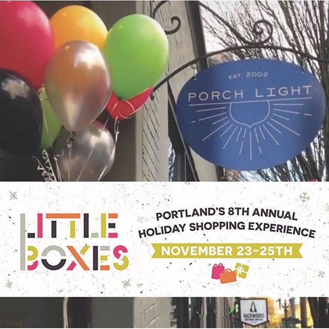Today is the last day of @littleboxespdx .  We're here until 5:00 and we still have some gifts left for you.  Pick a little succulent, bundle of palo santo wood or travel candle.  Plus get 10% off your entire purchase for participating!