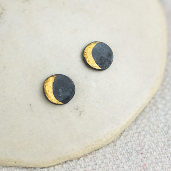 moon-stud-earrings