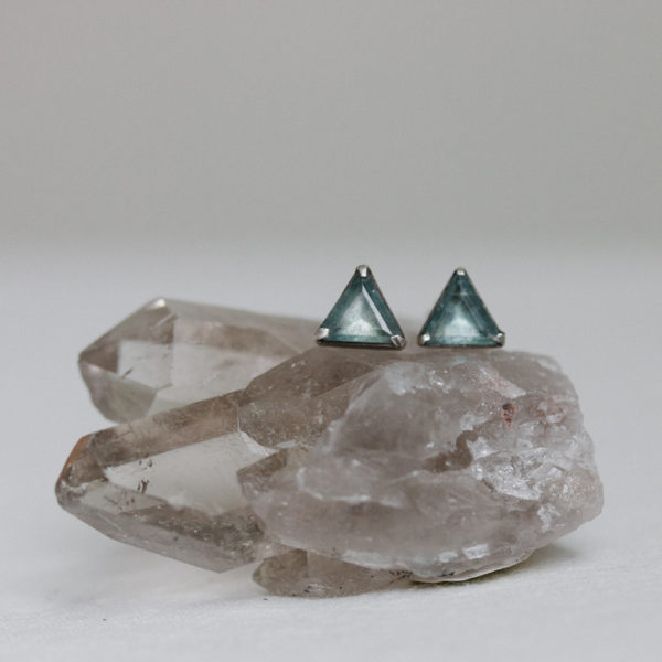 triangle-stud-earrings