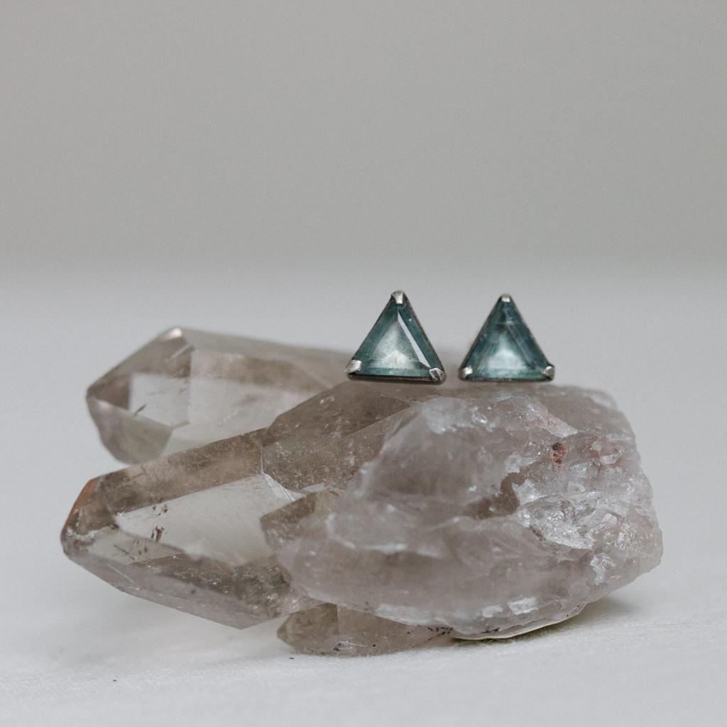 triangle-stud-earrings