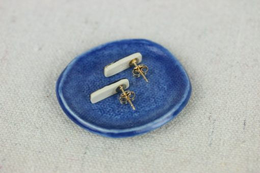 tiny reed studs with back view