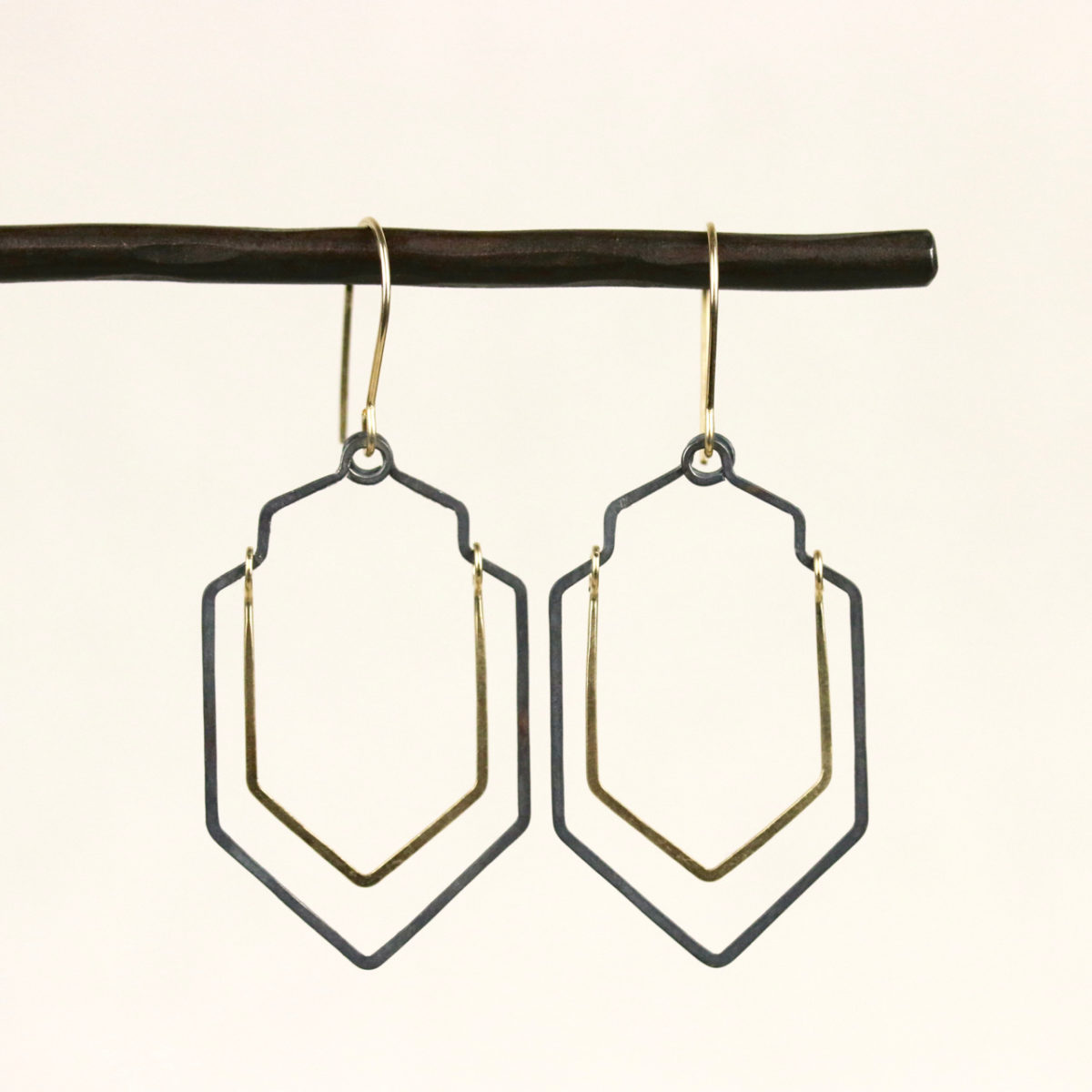 gold-fill-and-oxidized-sterling-silver-earrings