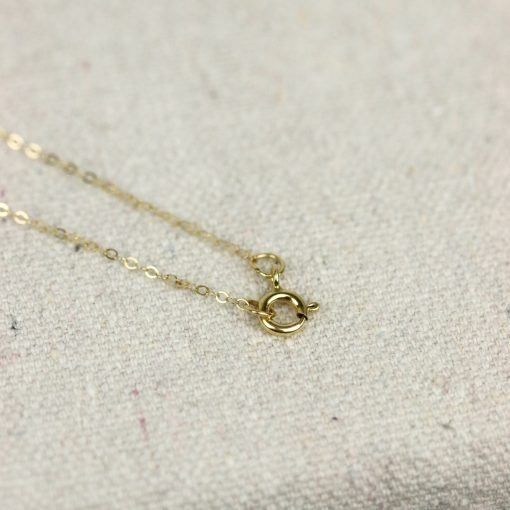 gold fill necklace clasp
