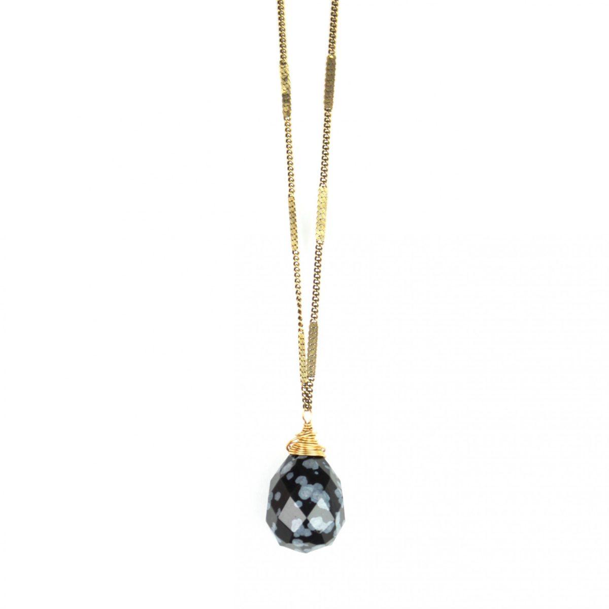 drop-necklace-snowflake-obsidian