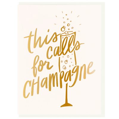 this-calls-for-champagne-card