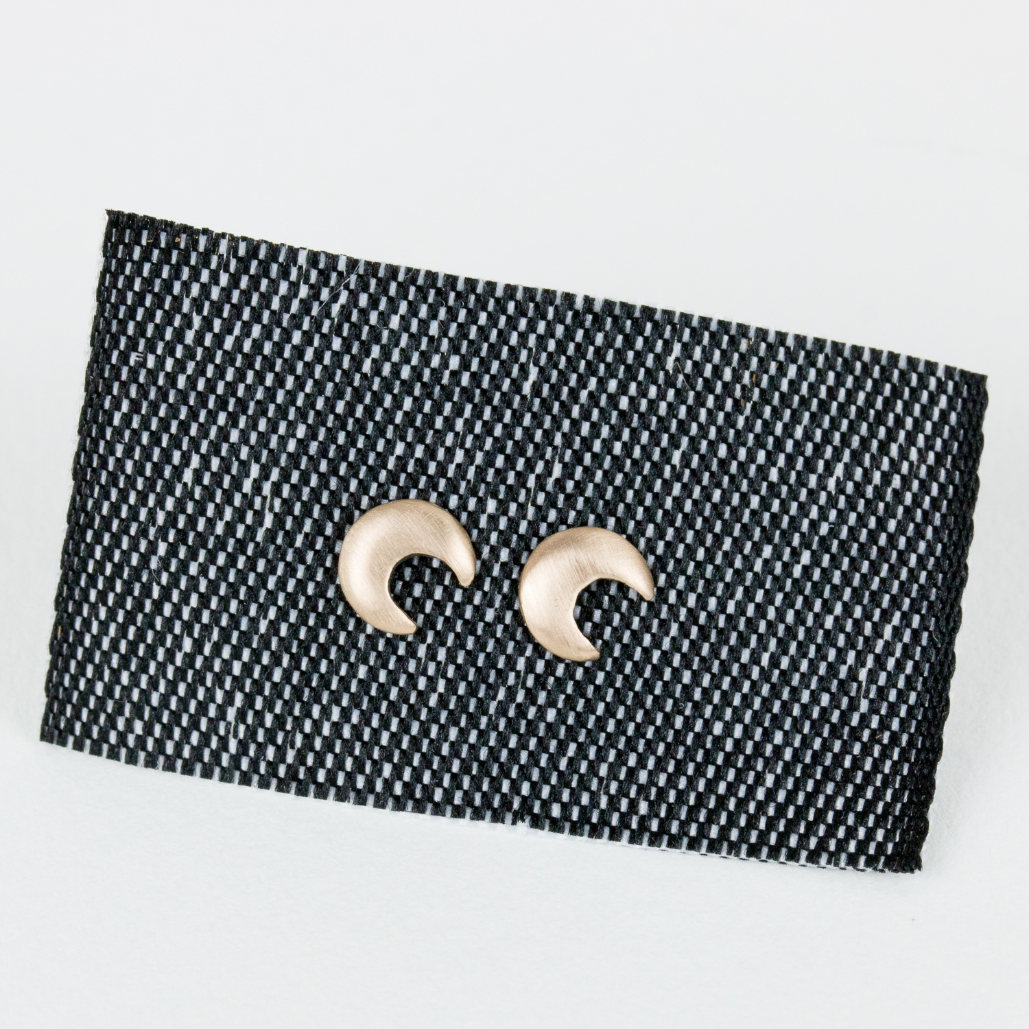 Moon Stud Earrings  $112