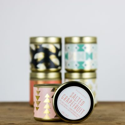 Salted grapefruit fragrance candle